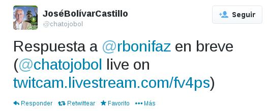 Bolivar Castillo ofrece respuesta a Software Libre