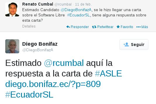 Tuit de Diego Bonifaz
