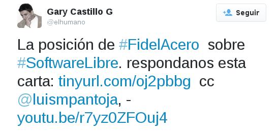 Luis Miguel Pantoja Fidel Acero